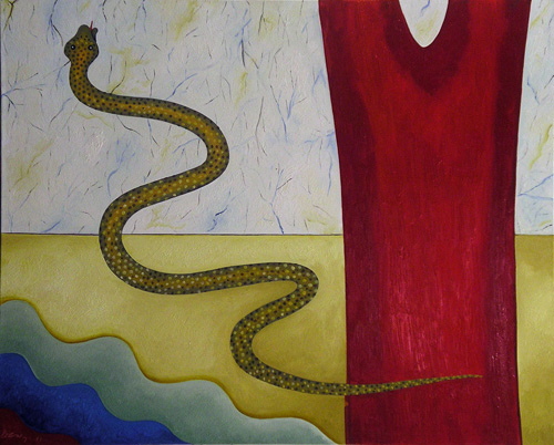 I Feel and Think, Therefore I Am: The Head and The Tail of The Snake